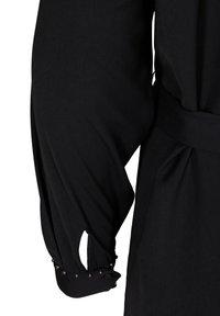 Zizzi - Shirt dress - black - 3
