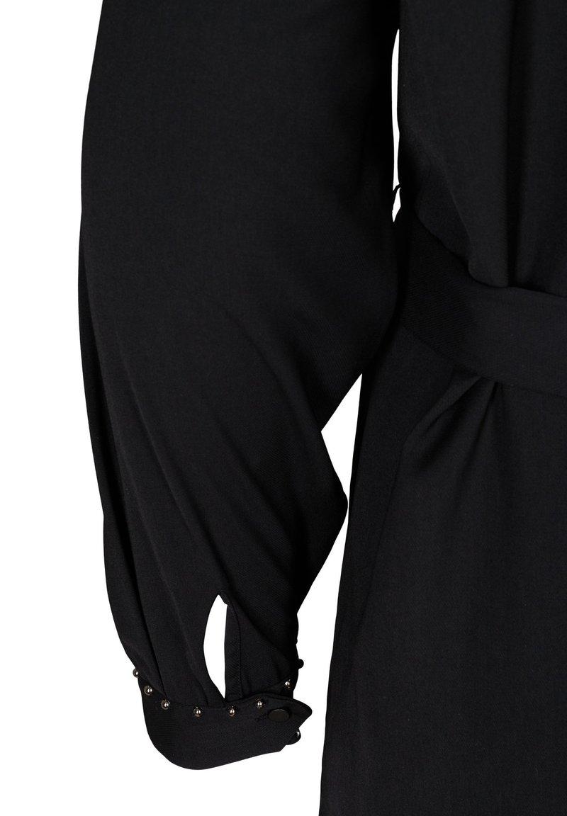 Zizzi Blusenkleid - black/schwarz D6lCXt