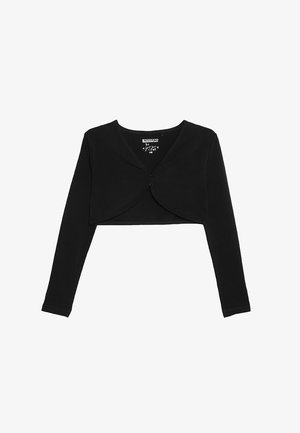 BOLERO - Strickjacke - black