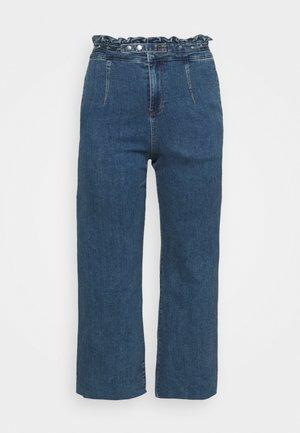WIDE LEG - Džíny Relaxed Fit - vintage blue