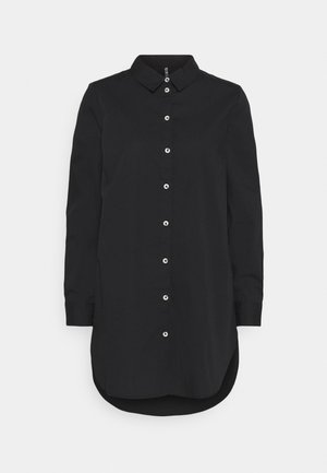 PCNOMA LONG  - Button-down blouse - black
