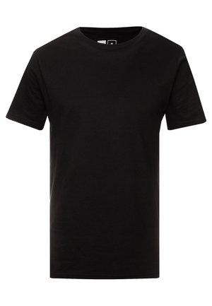 STOCKHOLM - Basic T-shirt - black