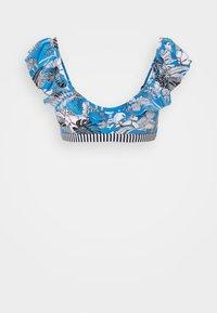 TULUM BEACH - Bikini top - blue