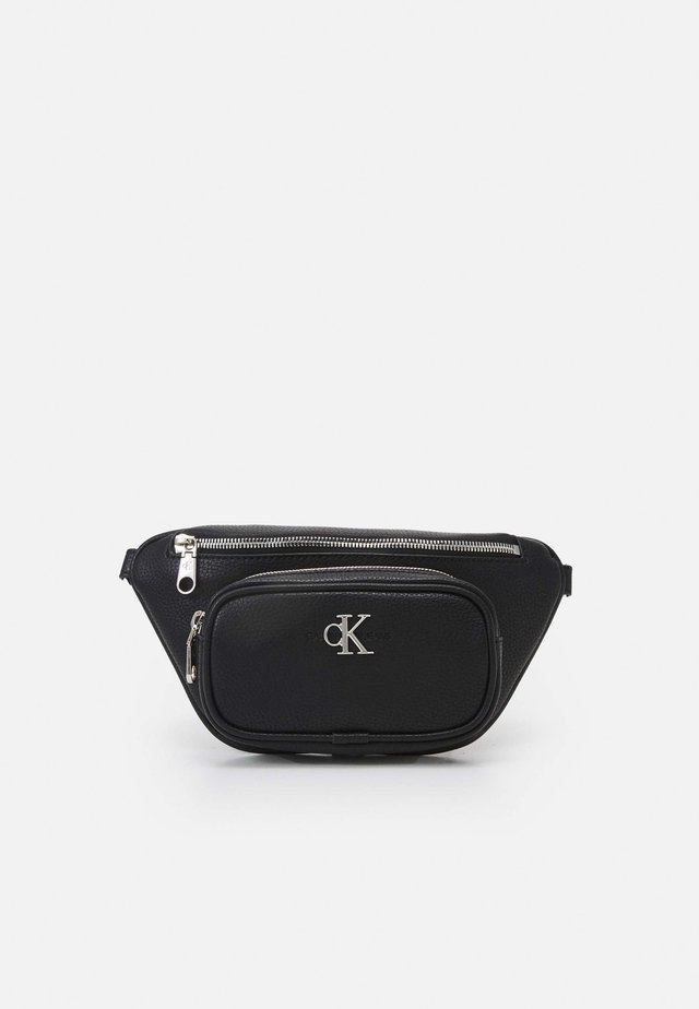 CONVERTIBLE WAIST BAG - Bältesväska - black