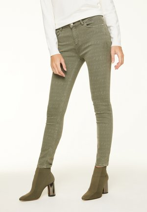 Jeans Skinny Fit - khaki graffity