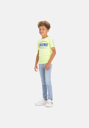 ALFONS - Slim fit jeans - light indigo
