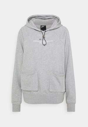 HOODIE - Sweatshirt - dark grey heather/white