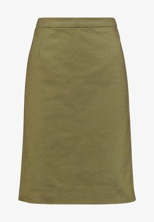 ESSENTIAL - Pouzdrová sukně - winter moss