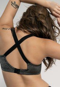 DORINA - Sports bra - grey melange - 8