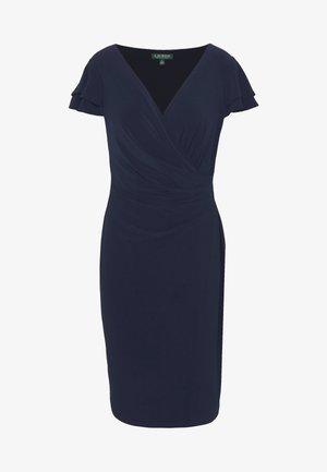 MID WEIGHT DRESS - Žerzejové šaty - lighthouse navy