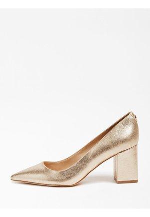 Classic heels - goldenfarbe