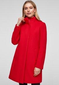 s.Oliver - Classic coat - red - 0
