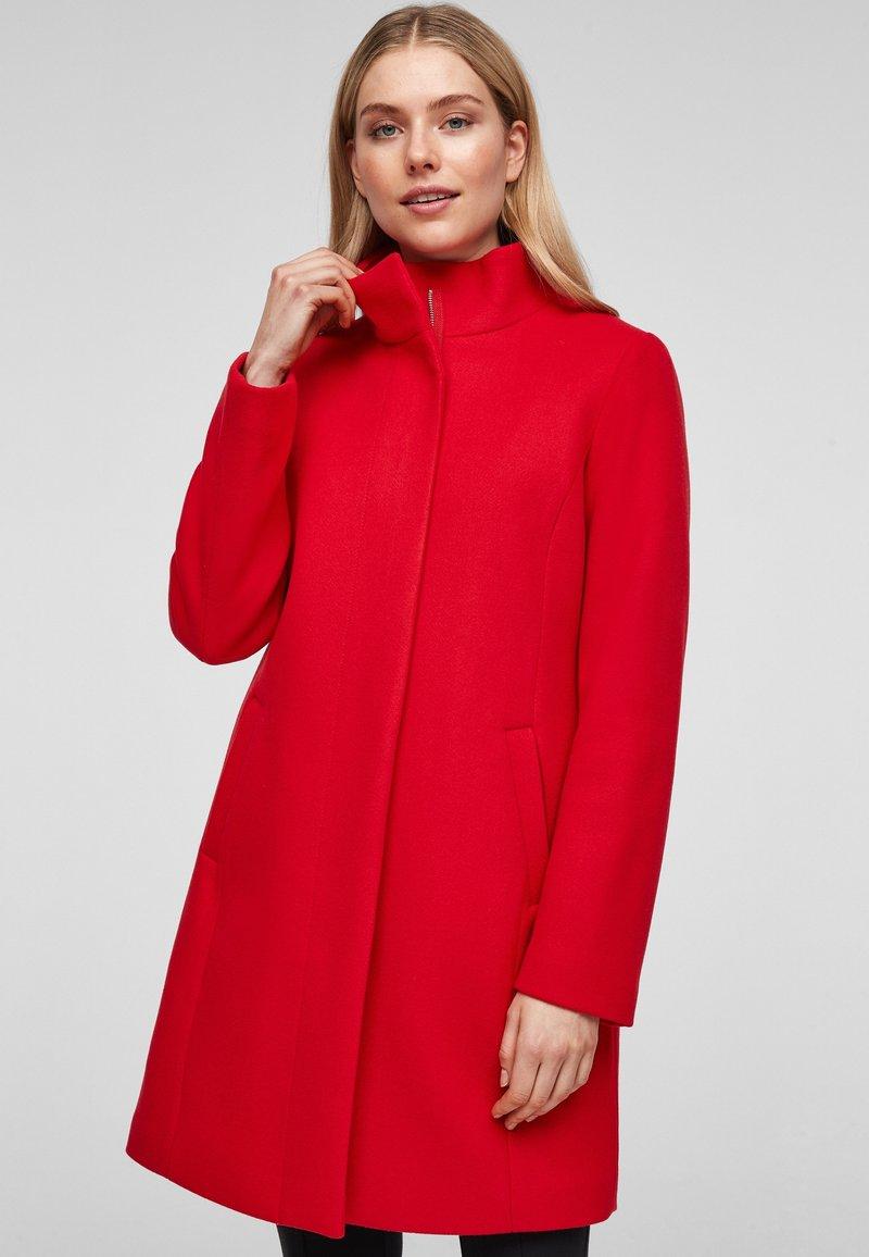s.Oliver - Classic coat - red