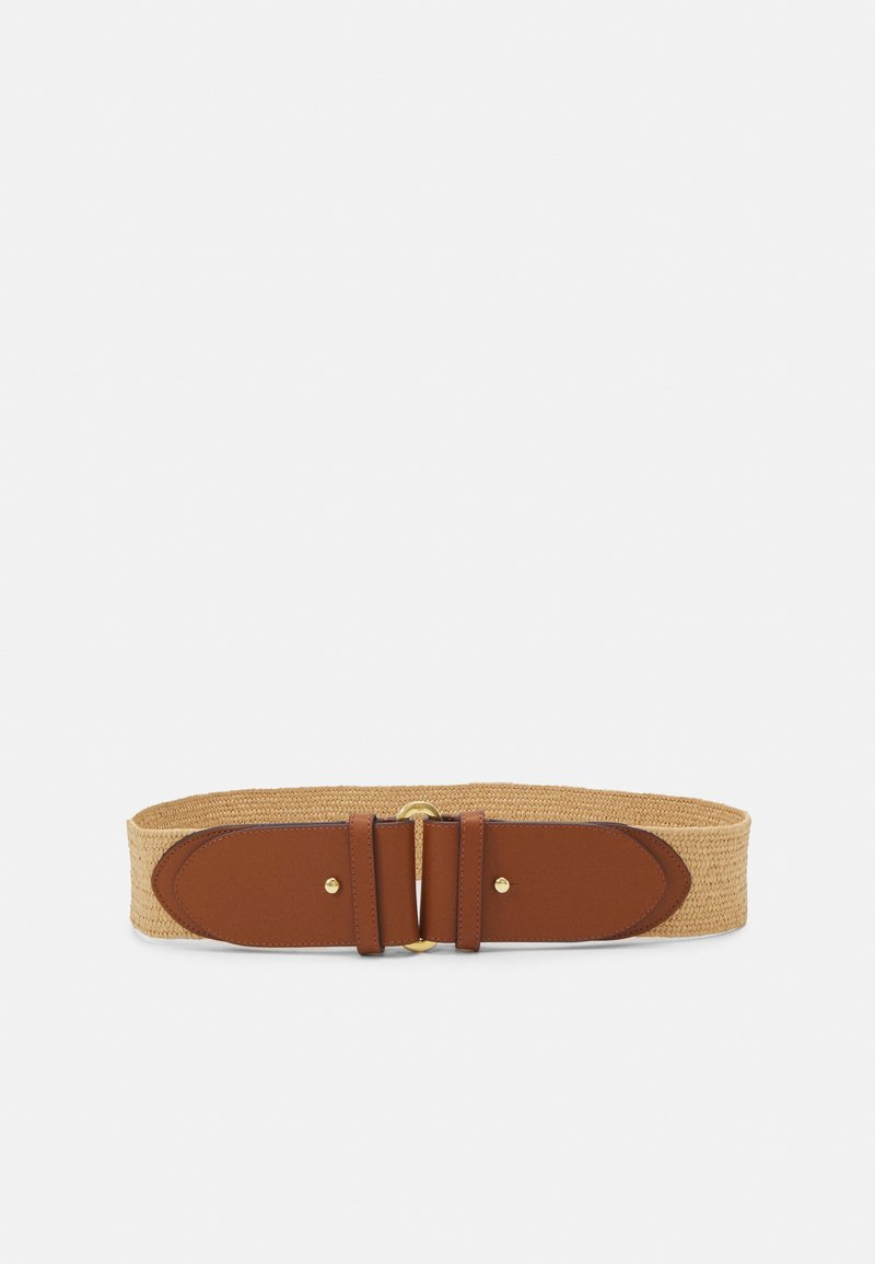 Lauren Ralph Lauren - STRETCH STRAW STRETCH - Belt - natural/tan