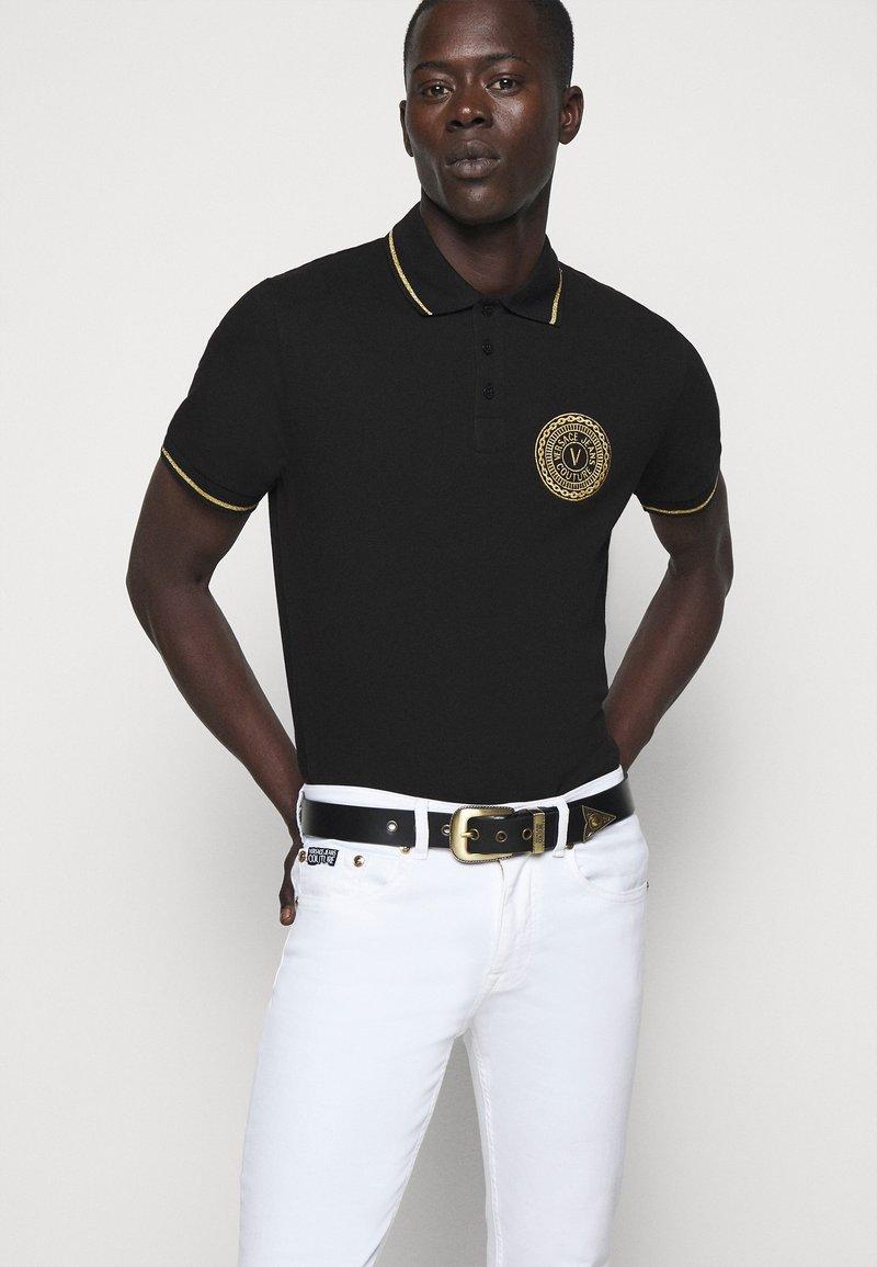 Versace Jeans Couture - Ceinture - black/gold-coloured