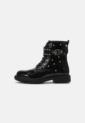 NAIVASHA - Lace-up ankle boots - black