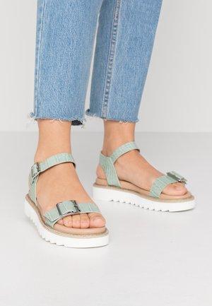 ONLMALU CHUNKY  - Platform sandals - mint