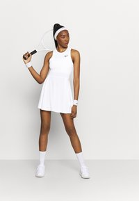 Nike Performance - ADVANTAGE DRESS - Abbigliamento sportivo - white/black - 1