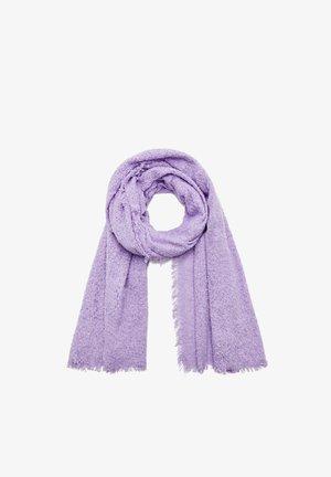 Szal - mottled purple