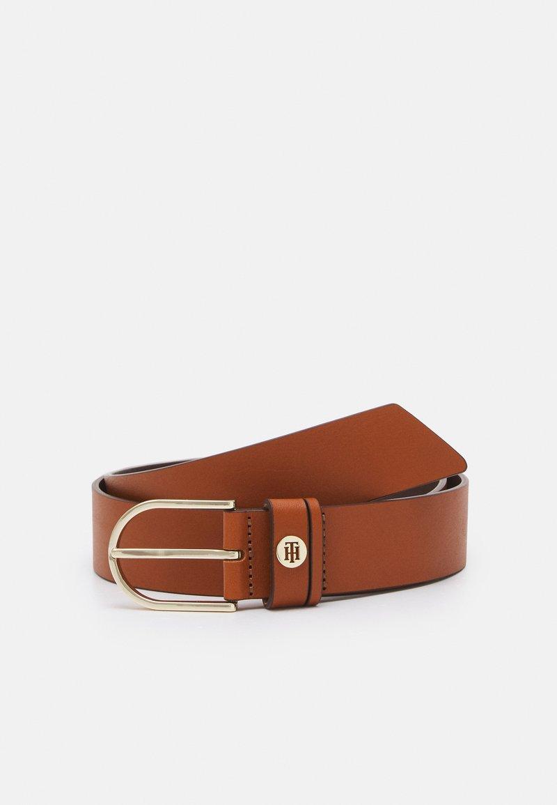 Tommy Hilfiger - CLASSIC BELT - Belt business - brown