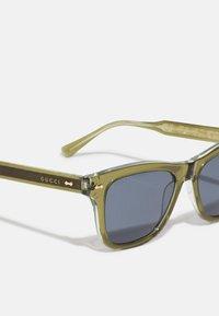 Gucci - UNISEX - Lunettes de soleil - green/blue - 2