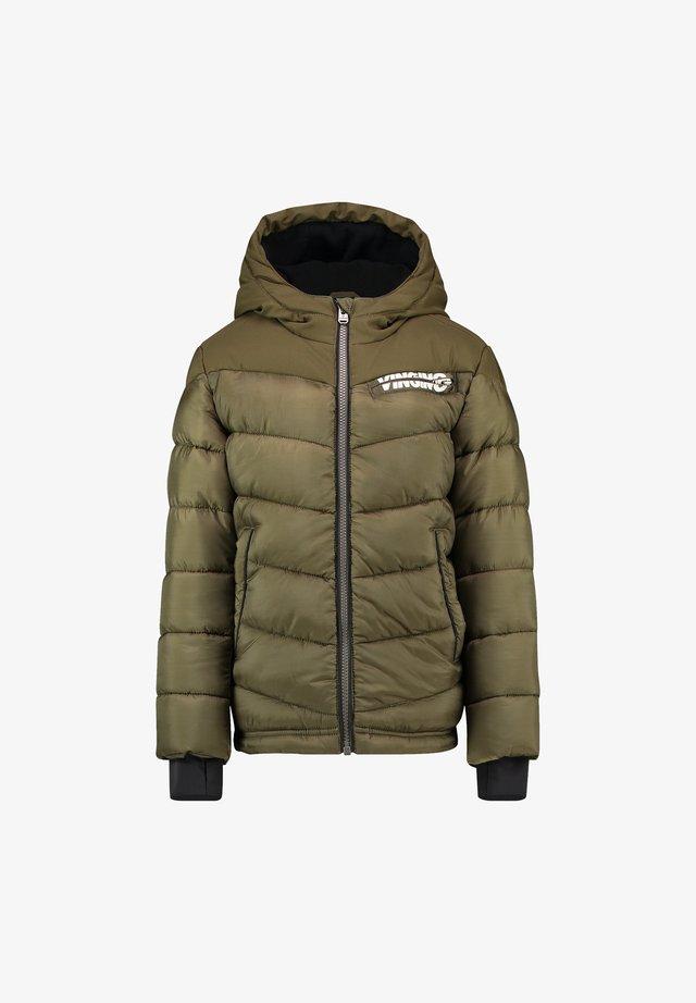 TUGRA - Winter coat - ultra army