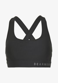 Medium support sports bra - black/graphite