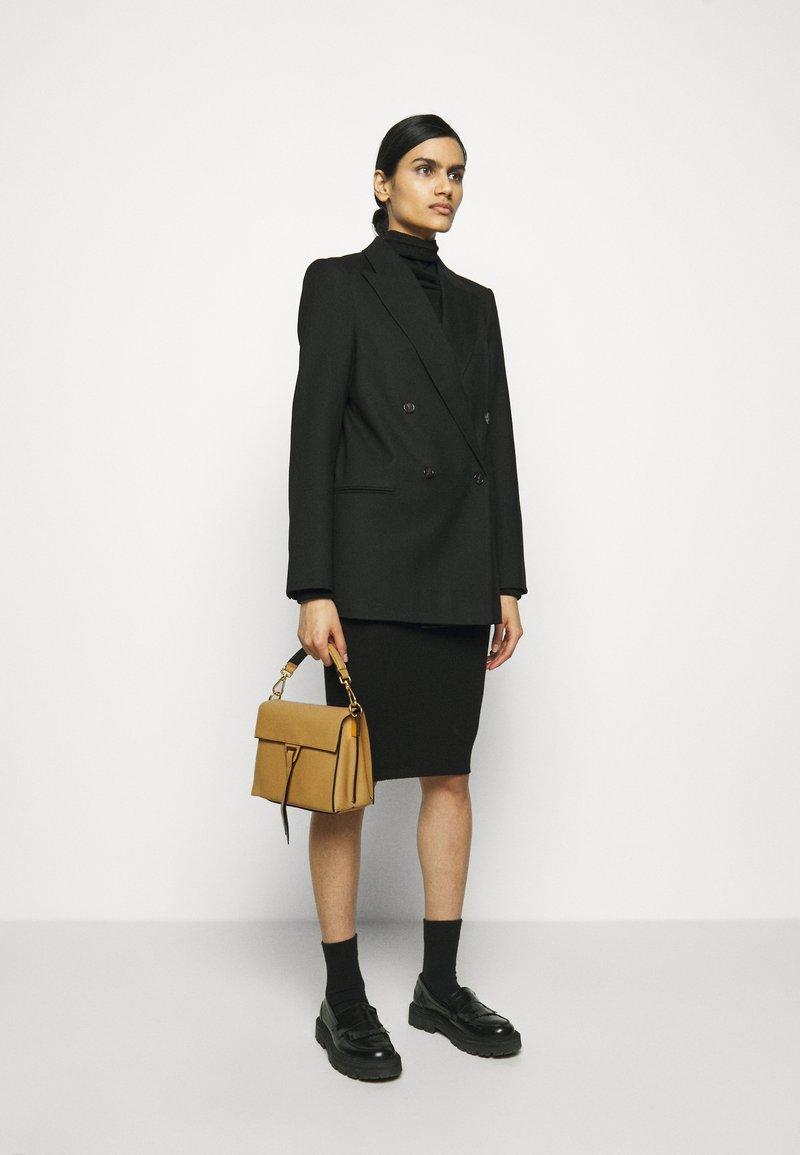 Coccinelle - LOUISE - Handbag - warm beige/noir