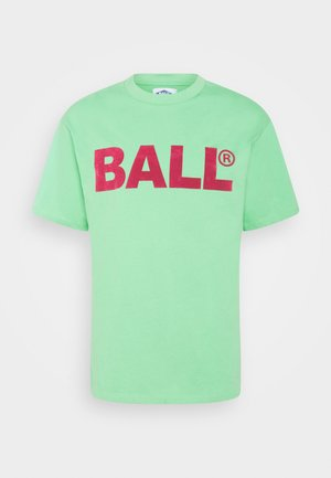 BALL CPH FLOCK  - Print T-shirt - bright green