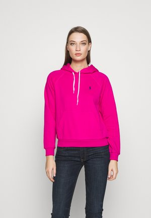 LONG SLEEVE - Mikina skapucí - accent pink