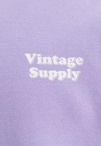 Vintage Supply - OVERDYE FLOW HOODIE - Sweatshirt - orchid - 2