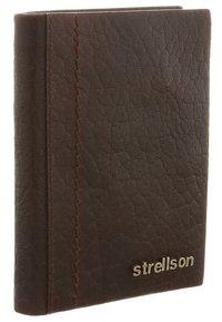 Strellson Premium - WALKER - Wallet - dark brown - 2