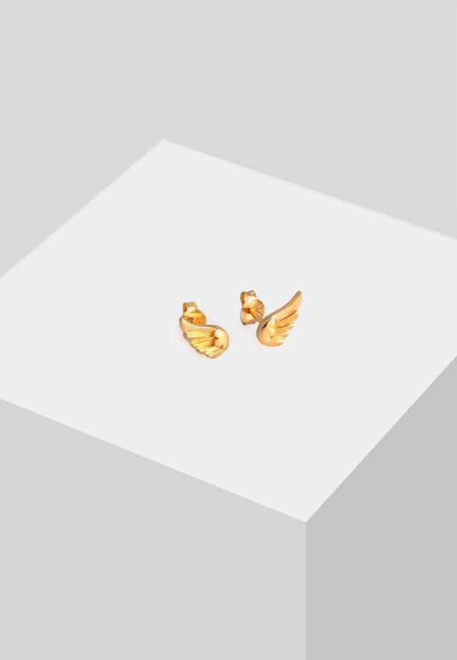 KINDER FLÜGEL - Earrings - gold
