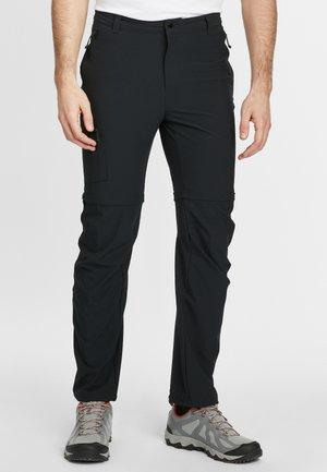 TRIPLE CANYON CONVERTIBLE - Outdoor trousers - black