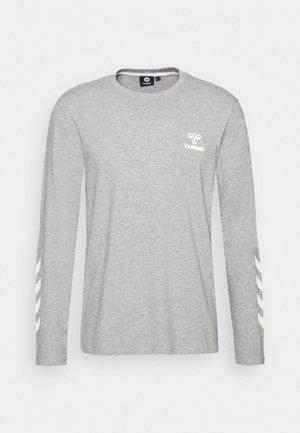 HMLSIGGE - Topper langermet - grey melange