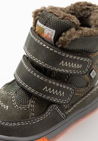 Lurchi - JAUFEN TEX - Winter boots - dark olive - 5