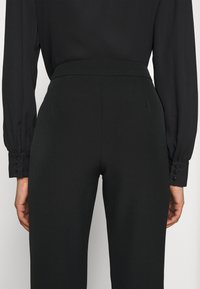 ONLY - ONLELORA ELLY LIFE FLARE PANT - Trousers - black - 7