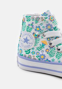Converse - CHUCK TAYLOR ALL STAR - High-top trainers - white/twilight pulse/citron pulse - 5