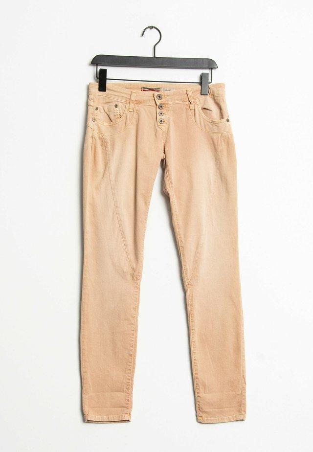 Slim fit jeans - orange
