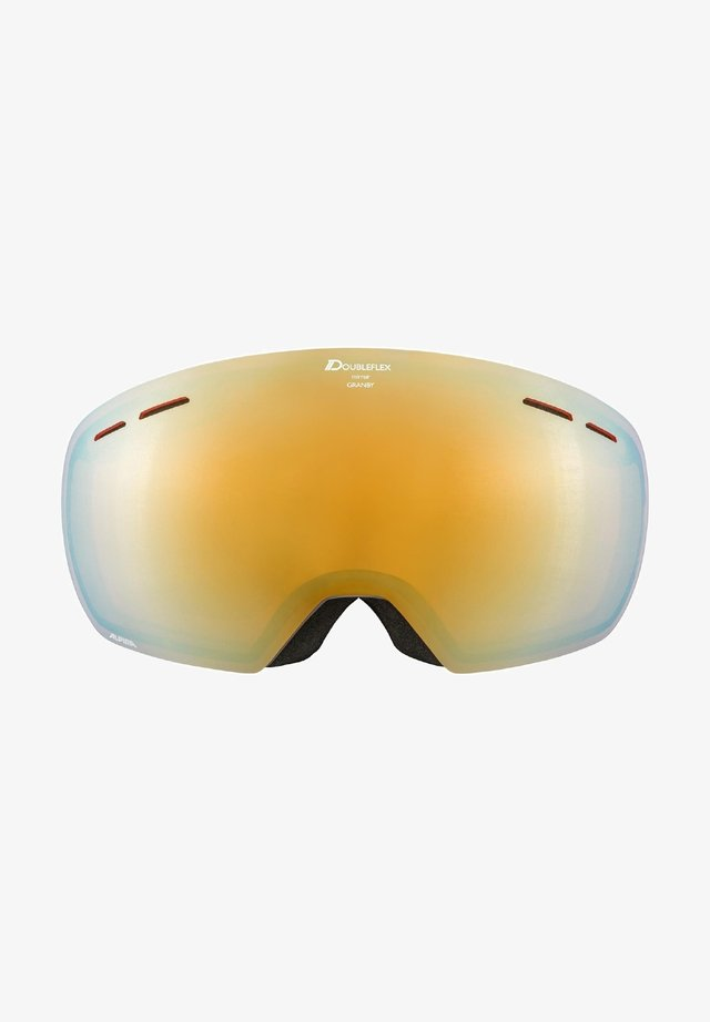 Masque de ski - grey-skyblue