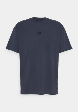 TEE PREMIUM ESSENTIAL - Camiseta básica - thunder blue/black