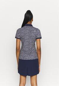 Kjus - WOMEN ENYA - Sports shirt - atalanta blue/silver fog - 2