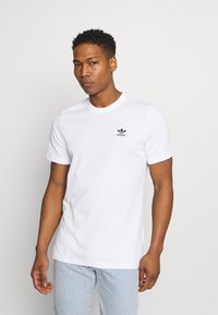 adidas Originals - ESSENTIAL TEE - T-shirt - bas - white - 0