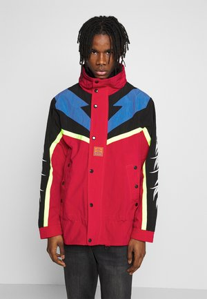 BENDER - Winterjas - red/black/blue