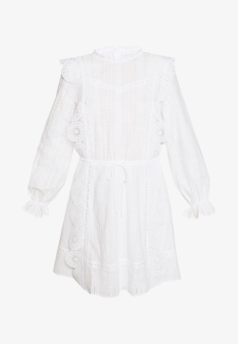 maje - RAVIA - Korte jurk - blanc