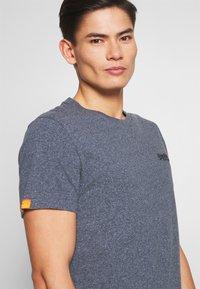Superdry - VINTAGE CREW - Basic T-shirt - blue grindle - 3