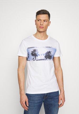 STRUCTURED FOTOPRINT - T-shirt imprimé - white