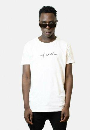 FAITH NEW  - T-shirt print - white