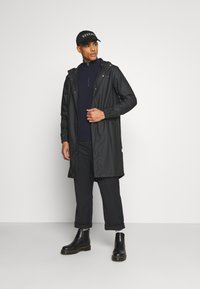 Rains - FISHTAIL UNISEX  - Parka - black - 1
