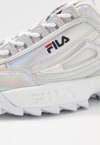 Fila - DISRUPTOR  - Baskets basses - silver - 2